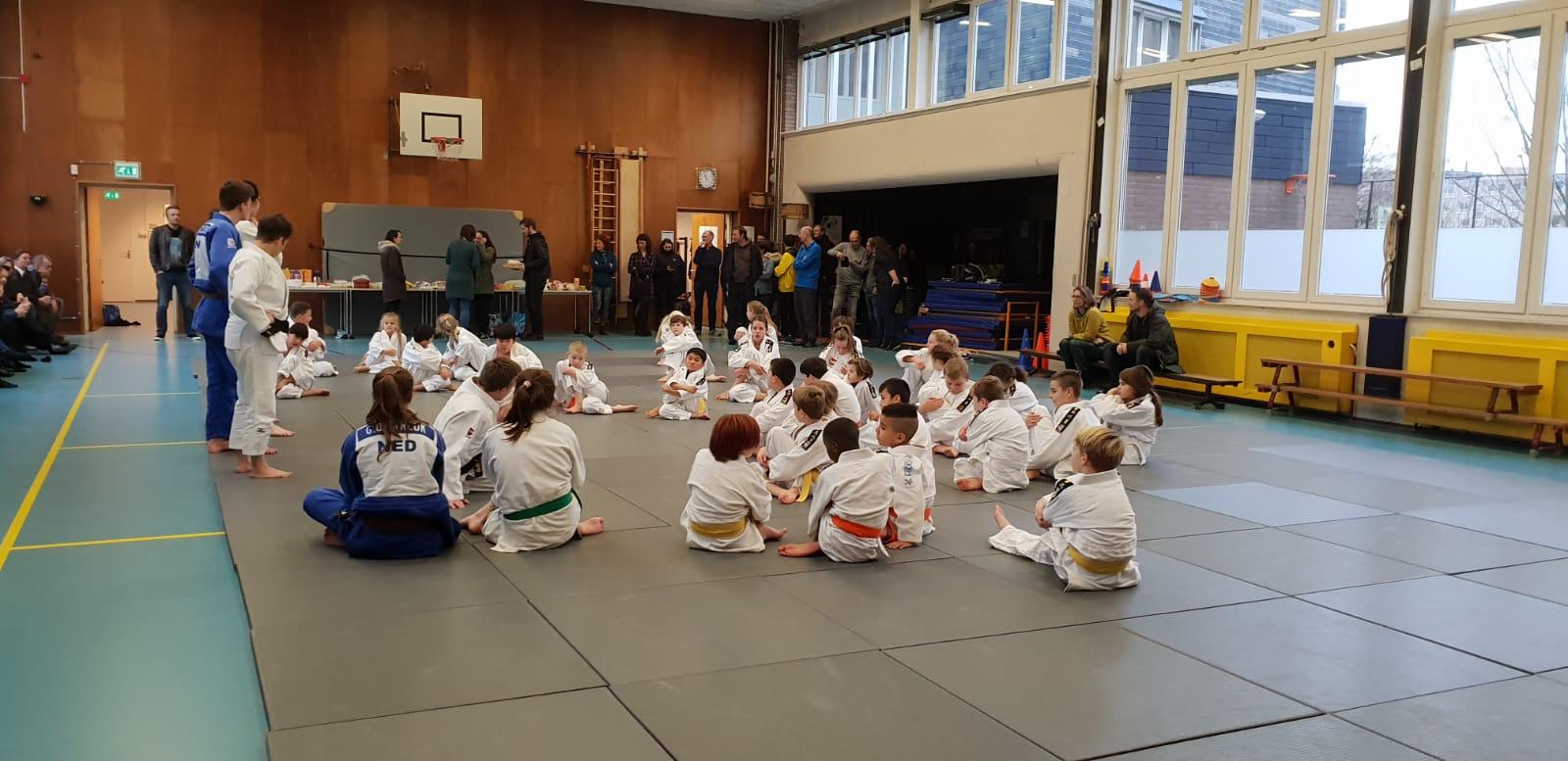 Judo op de basis school