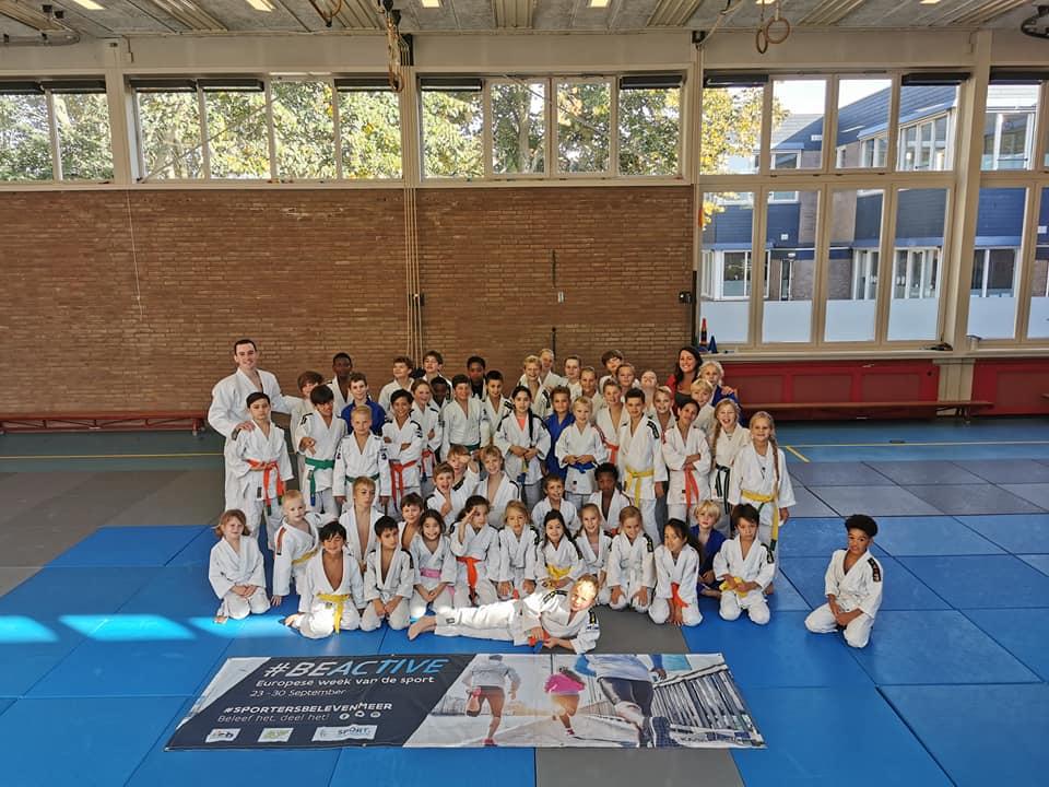 Antwerp united op bezoek jcr judo