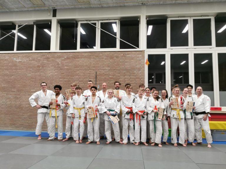 examens JCR judo