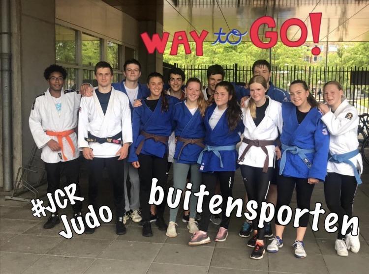 jcr judo buiten training